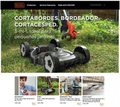 blackdecker estrena nueva imagen de marca en la web