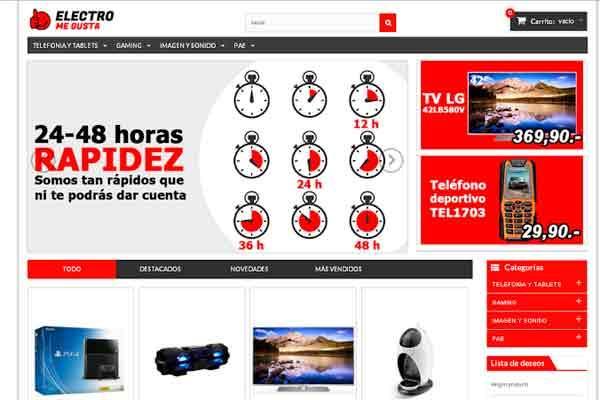 bluevision confiacutea en electromegusta para la comercializacioacuten online de su cataacutelogo