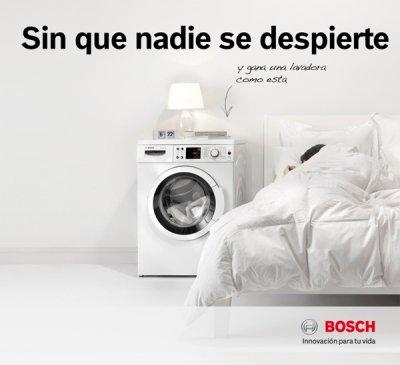 bosch lanza una nueva promocin para su lavadora silenciosa