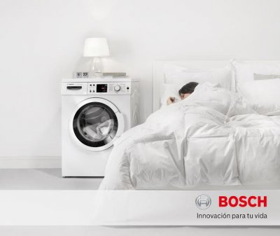 bosch presenta la nueva lavadora ecosilence