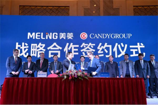 candy group y meiling company firman un acuerdo de colaboracioacuten en el mercado chino