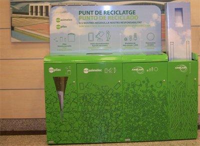 los centros de el corte ingls en catalua pioneros en reciclaje de raee