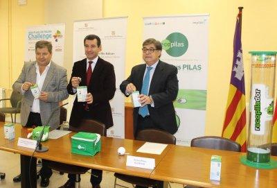 los ciudadanos baleares reciclan 42103 kilos de pilas y bateras usadas en 2014