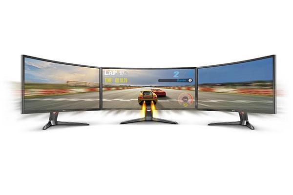 la competicin se vuelve real con el nuevo monitor curvo xr3501 de benq