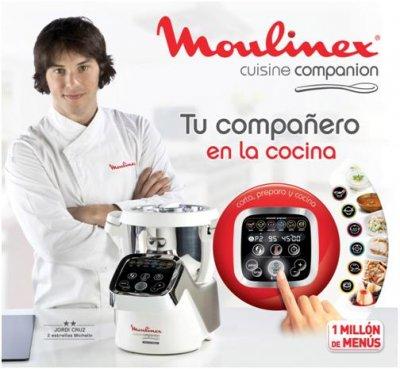 Cuisine companion el nuevo compa ero de cocina de moulinex for Cuisine companion