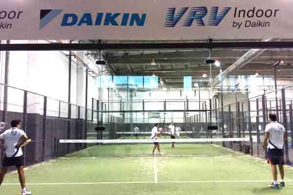 daikin organiza un torneo de paacutedel indoor unido al lanzamiento de su sistema vrv indoor