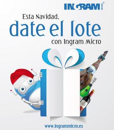 date el lote el lema de ingram micro para su campaa navidea