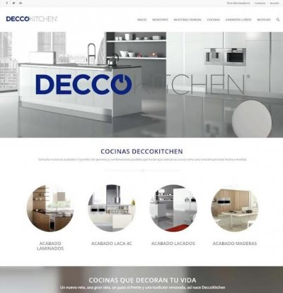 deccokitchen estrena nueva web corporativa