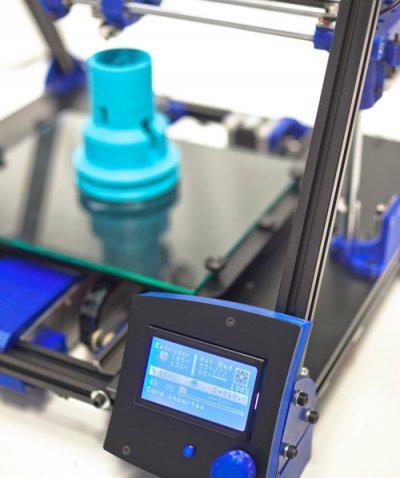 el departamento de research and innovation de taurus group ya imprime sus prototipos en 3d