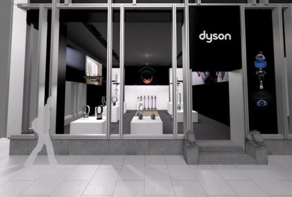 dyson abre su primera tienda del mundo en japn