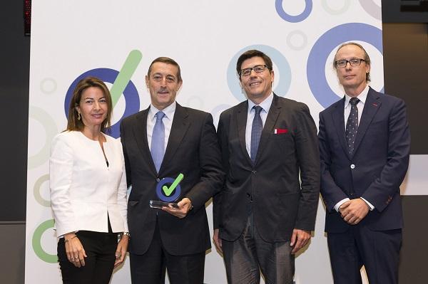 bsh electrodomeacutesticos espantildea obtiene el premio prevencionar 2016