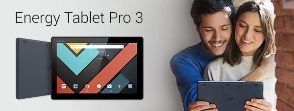 energy tablet pro 3 disentildeo potencia y versatilidad