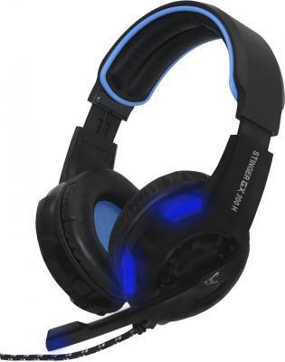 experiencia de juego inmersiva con los auriculares stinger gx 200h de woxter