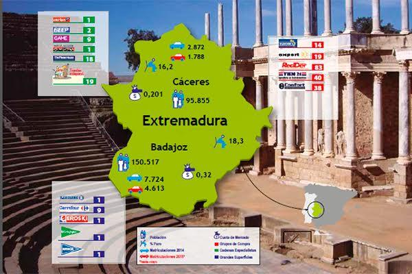 extremadura fue una de las tres regiones que maacutes crecioacute durante 2014