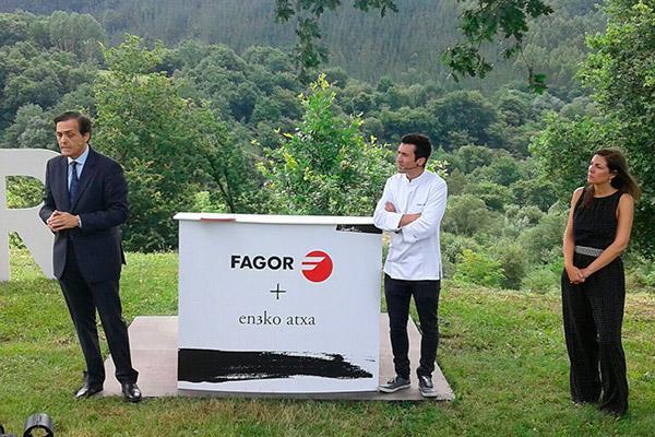 fagor y el chef eneko atxa unen sus fuerzas