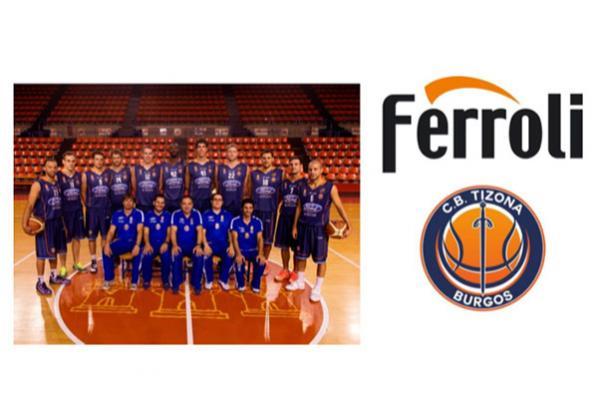 ferroli patrocina al equipo de basket cb tizona de burgos