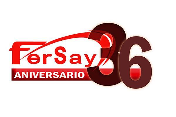 fersay presenta el logo de su 36 aniversario