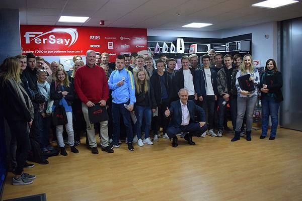 fersay colabora con la escuela de negocios danesa roskilde business college