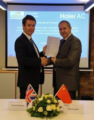 euromonitor destaca a haier como liacuteder mundial de aparatos de aire acondicionado con conectividad