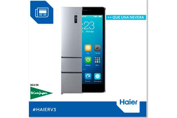 haier regala un smartphone al comprar uno de sus frigorficos