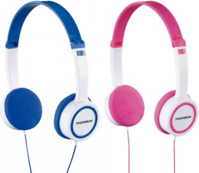 hama introduce dos nuevos auriculares thomson para nios