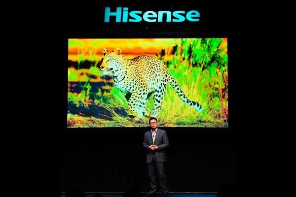 hisense emerge como innovador de tecnologiacutea formidable en ces 2016