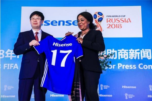 hisense patrocinador oficial de la copa del mundo de la fifa rusia 2018