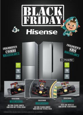 hisense se prepara para el black friday
