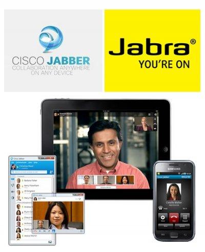 jabra permite el control de la llamada gracias al nuevo cisco jabber