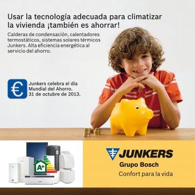 junkers aporta la tecnologa como una herramienta para el da mundial del ahorro