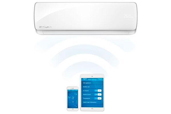 kaysun presenta su nuevo split aurea de climatizacioacuten domeacutestica con wifi