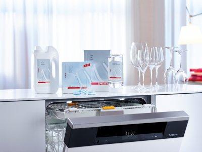 los lavavajillas generacin 6000 de miele proporcionan excelentes resultados en las vajillas y la cristalera
