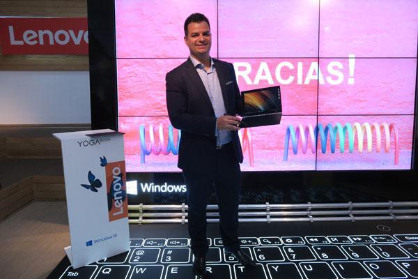 lenovonbsppresenta en espantildea el premiado yoga book la quotproacutexima generacioacutenquot de tablets