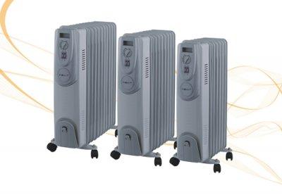 llega la nueva gama de radiadores de aceite de nevir