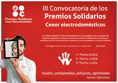 llega la tercera edicin de los premios solidarios cenor electrodomsticos
