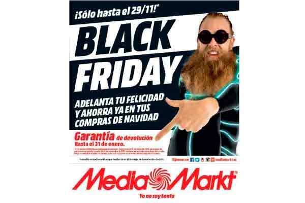 media markt adelanta la navidad con el black friday