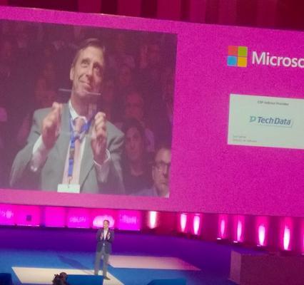 microsoft premia a tech data como mejor mayorista