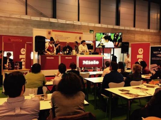 miele y a punto participan en el saln internacional gourmet