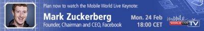 el mobile world congress tendr a mark zuckerberg como la estrella de esta edicin