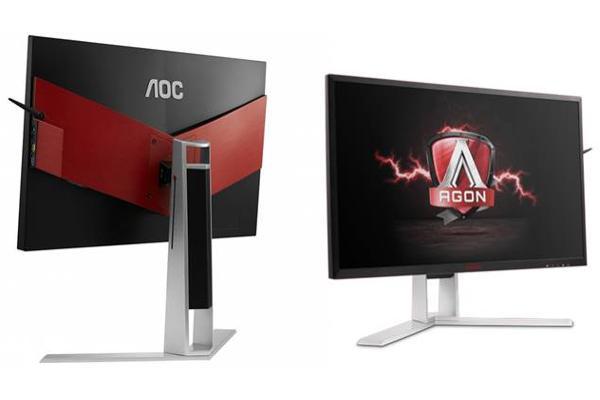 monitor aoc agon con 4k pantalla ips y nvidia gsync