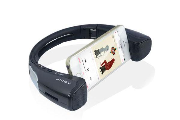 nevir presenta un altavoz bluetooth y soporte para smartphonesnbsp