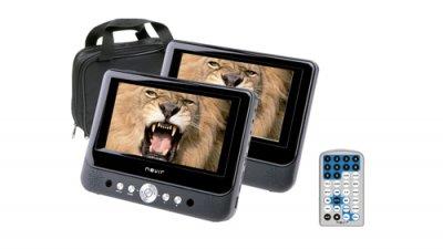 nevir presenta un nuevo dvd porttil de doble pantalla