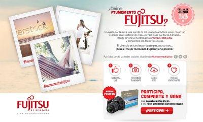 nueva campaa de fujitsu aire acondicionado en redes sociales