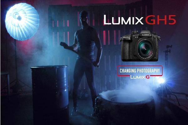 la nueva lumix gh5 de panasonic llega a espantildea