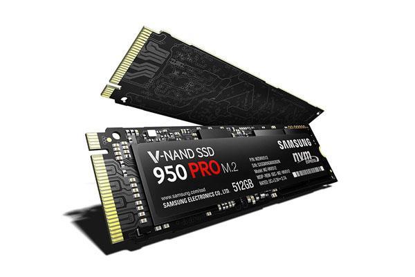 nuevas unidades 950 pro ssd de samsung