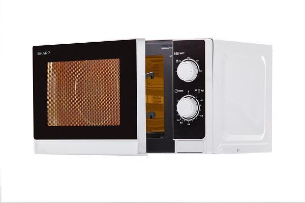los nuevos microondas de sharp cuentan con 20 litros de capacidad de horno