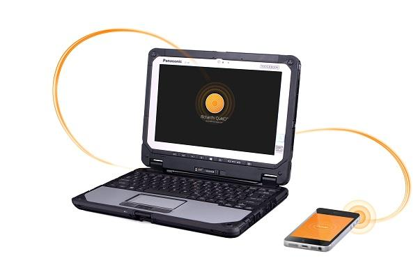 panasonic toughbook se asocia con fusionpipe para ofrecer software de autentificacioacuten