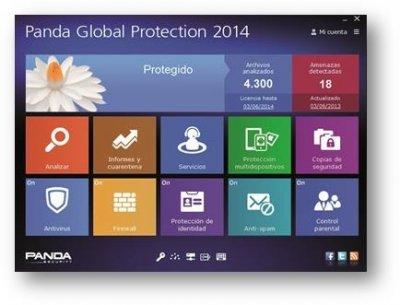panda global protection 2014 protege por primera vez entornos windows mac y android