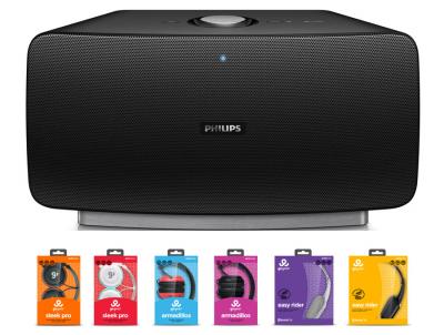 philips audio y la nueva marca gogear obtienen cinco if design