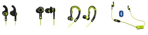 philips muestra su nueva gama de auriculares deportivos actionfit
